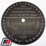Subaru Engine Timing Degree Disc Wheel Black Anodised Aluminium